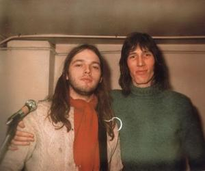 david gilmour, Pink Floyd, and roger waters image