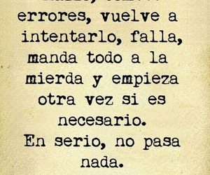 frases, try, and errores image