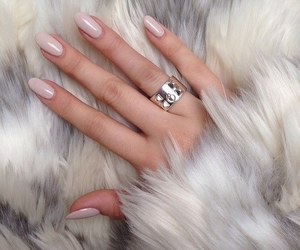 nails, ring, and fur image