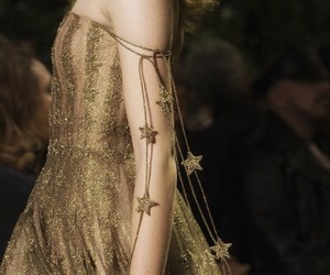 fashion, dress, and stars image