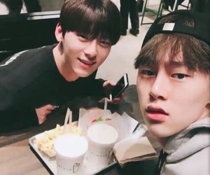 jbj, hyunbin, and wanna one image