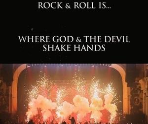 Devil, god, and music image