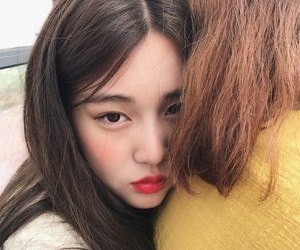 girl, ulzzang, and soocolor image