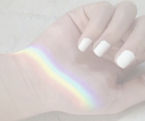 aesthetic, color, and hand image
