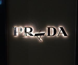 Prada, light, and black image