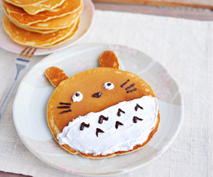 food, sticker, and totoro image