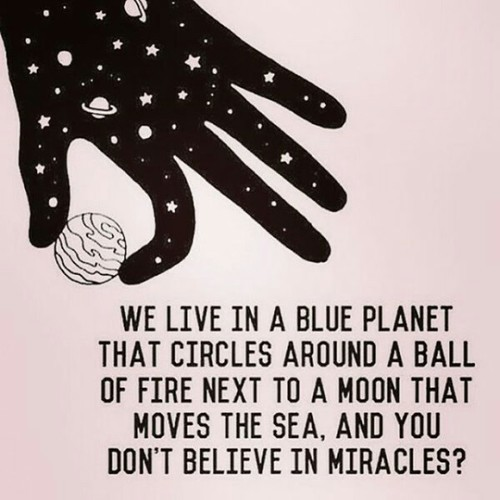 miracle, quotes, and earth image