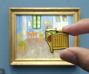 art, artist, and badge image