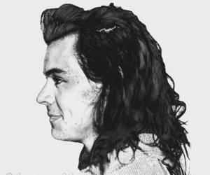 draw, fanart, and harrystyles image