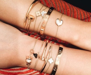 bracelet, cartier, and jewerly image