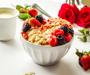 berry, food, and breakfast image