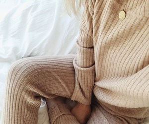beige, cashmere, and cozy image