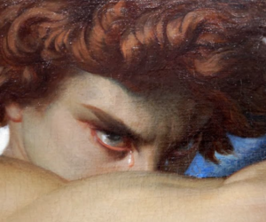 alexandre cabanel, angel, and angry image