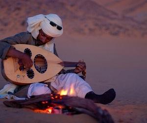 arab, desert, and man image