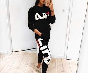 Fila, outfit, and clothes image