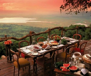 food, nature, and dinner image