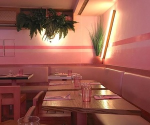 cafe and pink image
