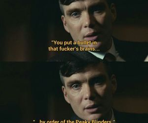 cillian murphy, tommy, and peaky blinders image