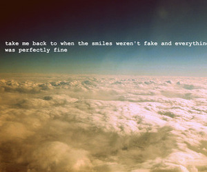 clouds, quote, and sky image
