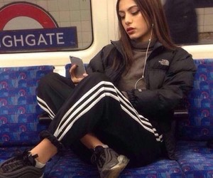 girl, adidas, and beautiful image