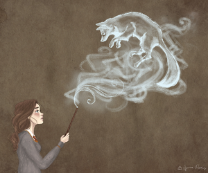 harry potter, magic, and spell image