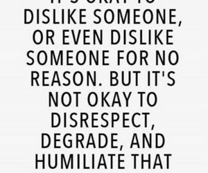 quotes, dislike, and respect image