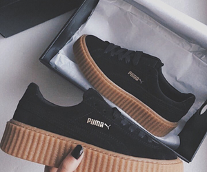 puma and black image