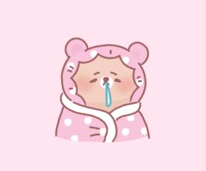 kawaii, pastel, and pink image
