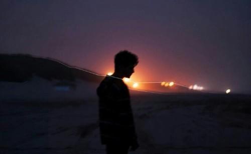 boy, light, and grunge image