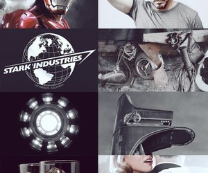 aesthetic, edit, and iron man image