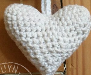 valentines, heart pattern, and heart ornament image