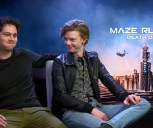 interview, the maze runner, and dylan o'brien image