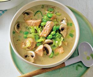 fish, food, and soup image