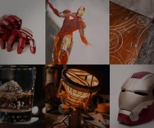 iron man, Marvel, and tony stark image