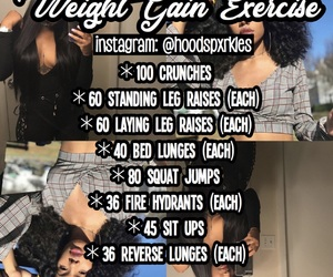 tips, workout, and weight gain image