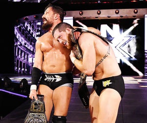 wwe, kyle o'reilly, and bobby fish image