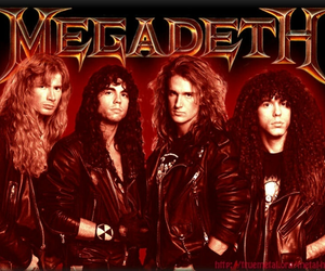 dave, rock and roll, and mustaine image