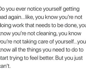 bad, depression, and feeling image
