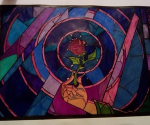 beauty and the beast, disegni, and disney image