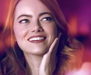 actress, smile, and emma stone image
