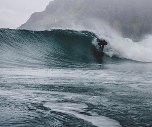 surf, surfing, and love image