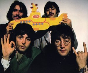 the beatles, beatles, and yellow submarine image
