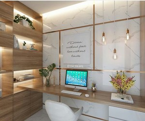 arquitetura, home office, and interior image