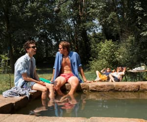 armie hammer, elio and oliver, and call me by your name image