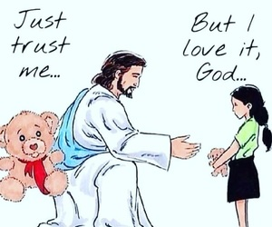 god, love, and trust image