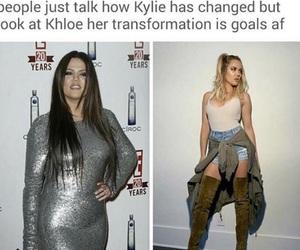 khloe kardashian and before&after image