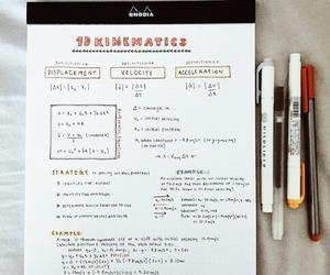 study, notes, and orange image