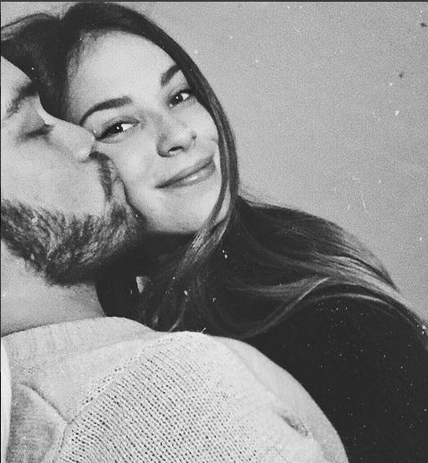 blacknwhite, kiss, and couple image