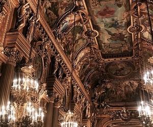architecture, france, and opera garnier image
