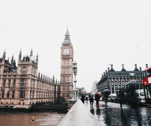london, travel, and england image
